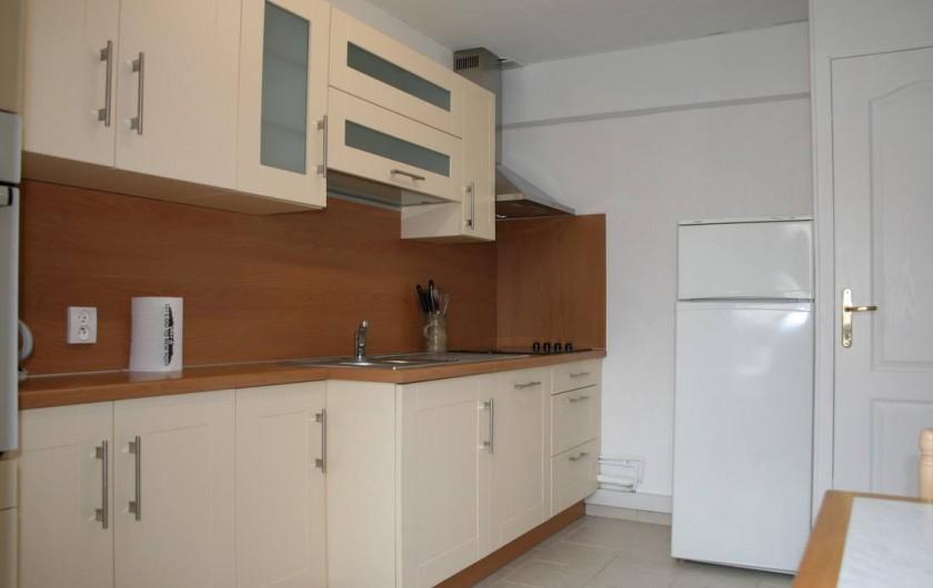 Location de vacances - Appartement à Wissant - cuisine
