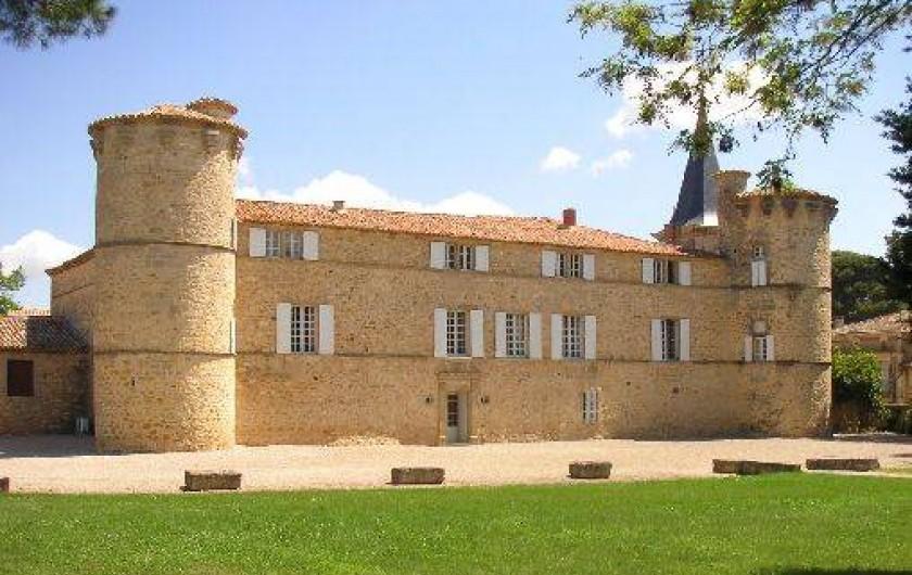 Maison D 39 H Tes Ch Teau De Jonqui Res Dans Le Languedoc