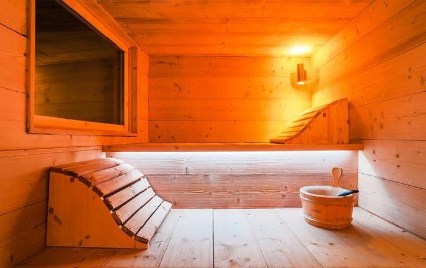 Location de vacances - Chalet à Mâcot-la-Plagne - Sauna