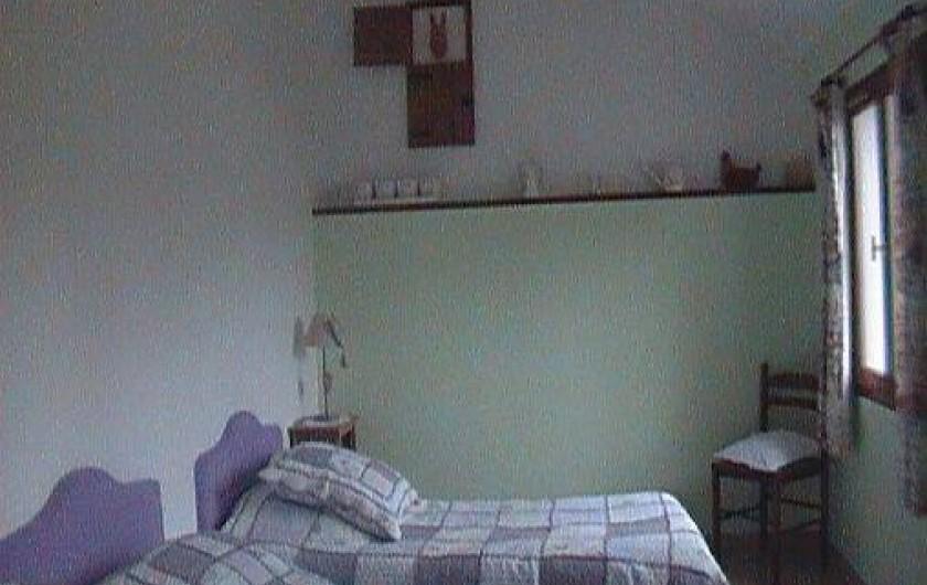 Location de vacances - Gîte à Berck - La chambre du rez-de-chaussée (2 personnes).