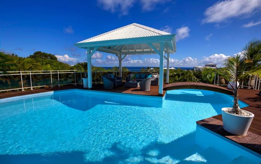 Location de vacances - Villa à Sainte-Anne - Carbet pour l'apéro