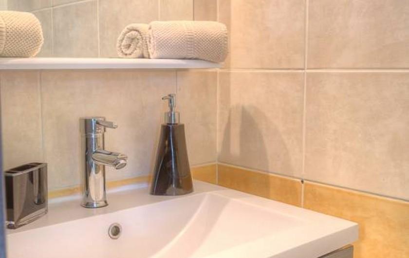 Location de vacances - Villa à Sainte-Anne - Salle d'eau chambre studio