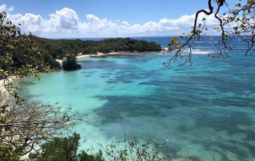 Location de vacances - Villa à Sainte-Anne - plage de petit havre à 25 mn