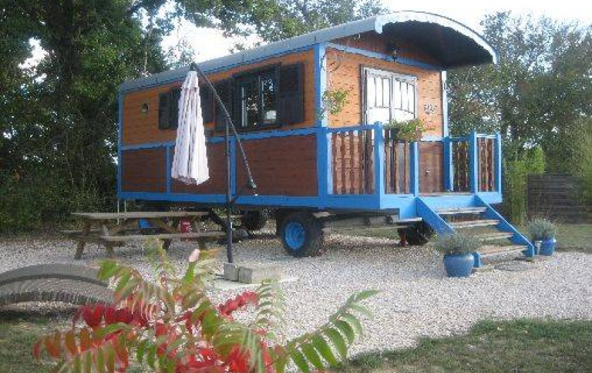 Location de vacances - Roulotte à L'Isle-Jourdain
