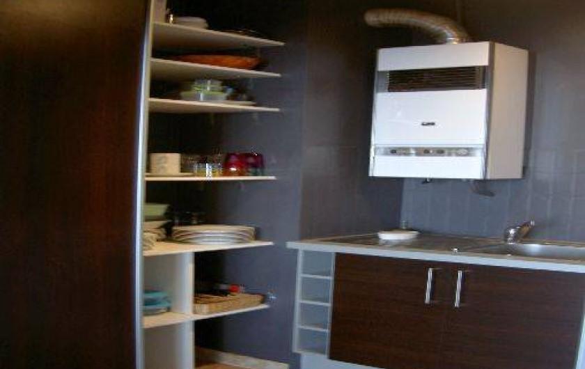 Location de vacances - Appartement à Ajaccio - cuisine