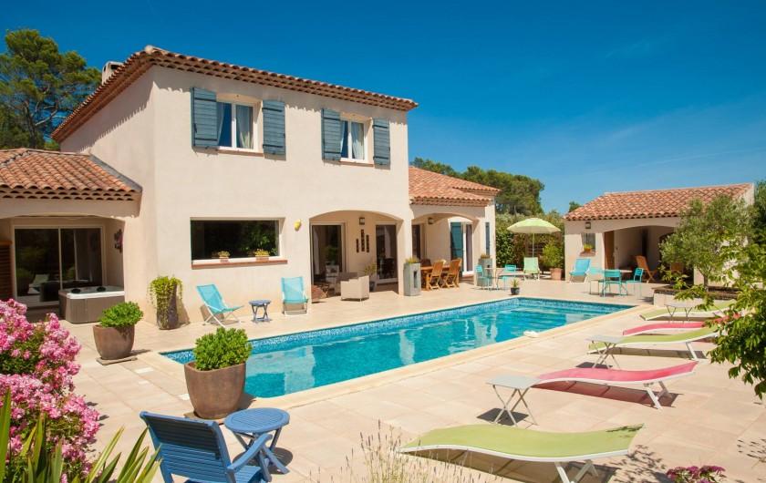 Location de vacances - Chambre d'hôtes à Lorgues - Le Mas Pinède