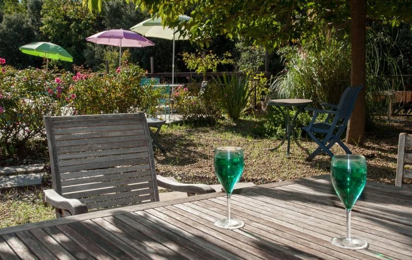 Location de vacances - Chambre d'hôtes à Lorgues - Fourniture de boissons fraîches, glaces, ...