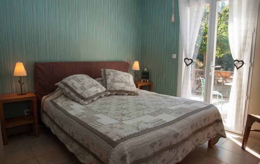 Location de vacances - Chambre d'hôtes à Lorgues - Chambre Rolle