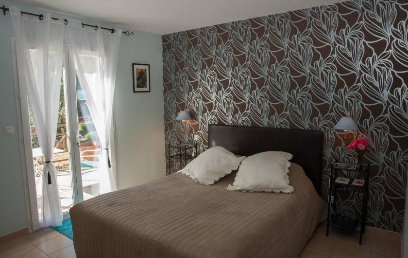 Location de vacances - Chambre d'hôtes à Lorgues - Chambre Syrah