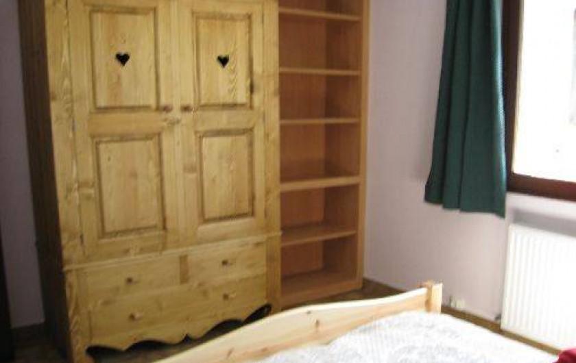 Location de vacances - Appartement à Saint-Jean-d'Arves - Chambre n°1