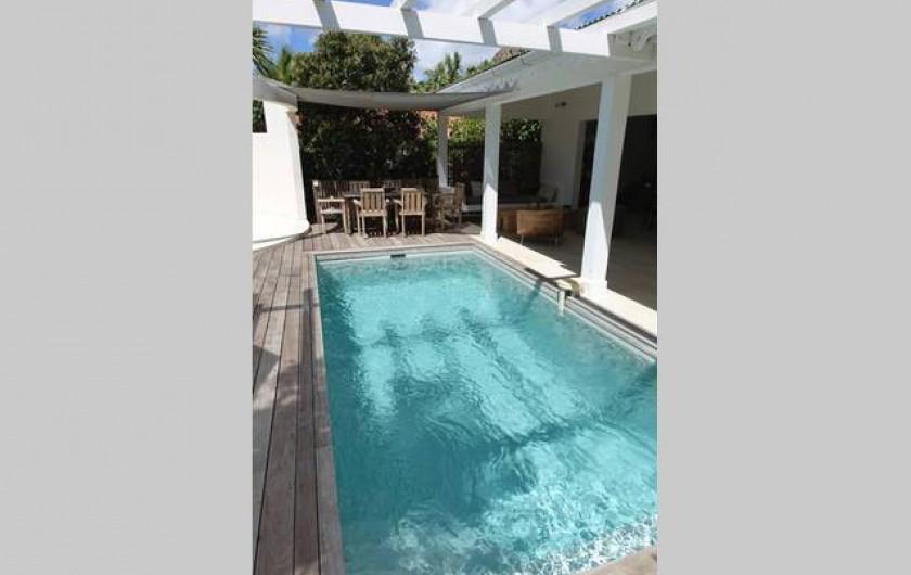 Location de vacances - Chambre d'hôtes à Gustavia - Piscine Villa PARADISE