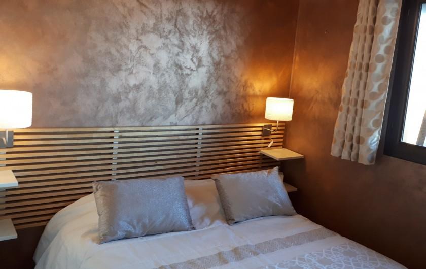 Location de vacances - Chalet à Saint-Lary-Soulan - Chambre 1