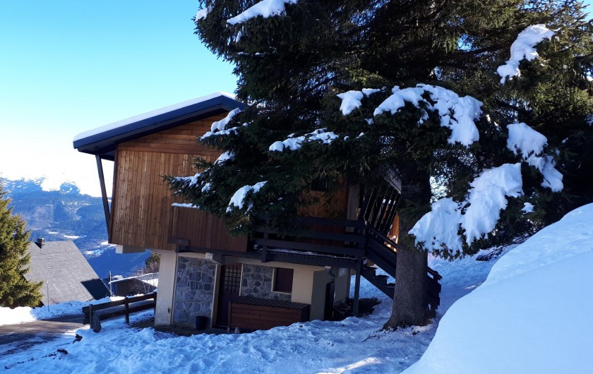 Location de vacances - Chalet à Saint-Lary-Soulan - Extérieur hiver