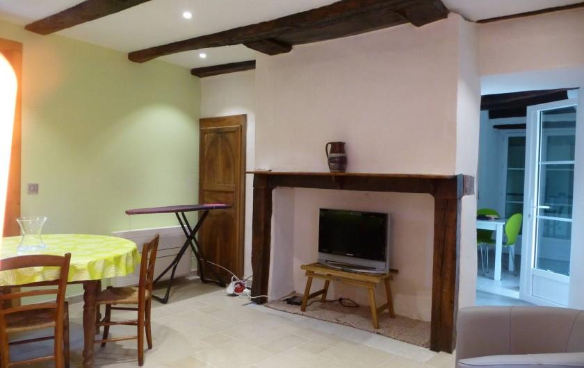 Location de vacances - Maison - Villa à Cajarc - partie salle à manger