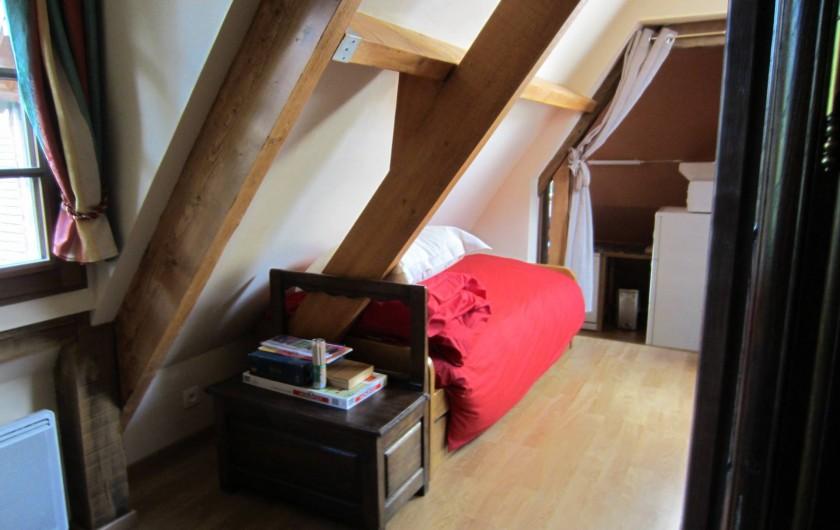Location de vacances - Appartement à La Rivière-Saint-Sauveur - un lit en supplément si  fille ou garçon