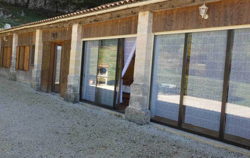 Location de vacances - Gîte à Tursac - façade du gîte