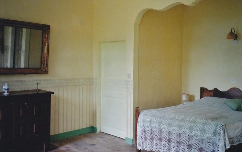 Location de vacances - Maison - Villa à Embrun - Chambre jaune 1 lit double
