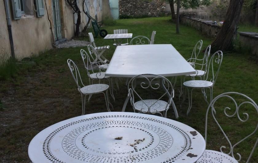 Location de vacances - Maison - Villa à Embrun - Terrasse