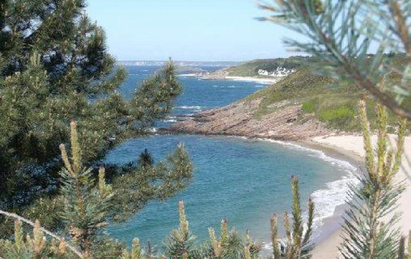 Location de vacances - Maison - Villa à Erquy - vue générale depuis le portuais