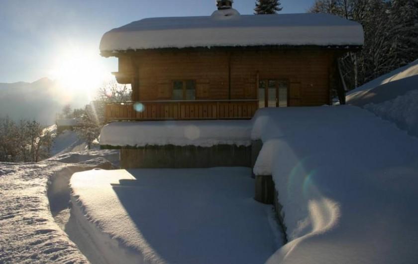 Location de vacances - Appartement à Hauteluce - Accès à la location