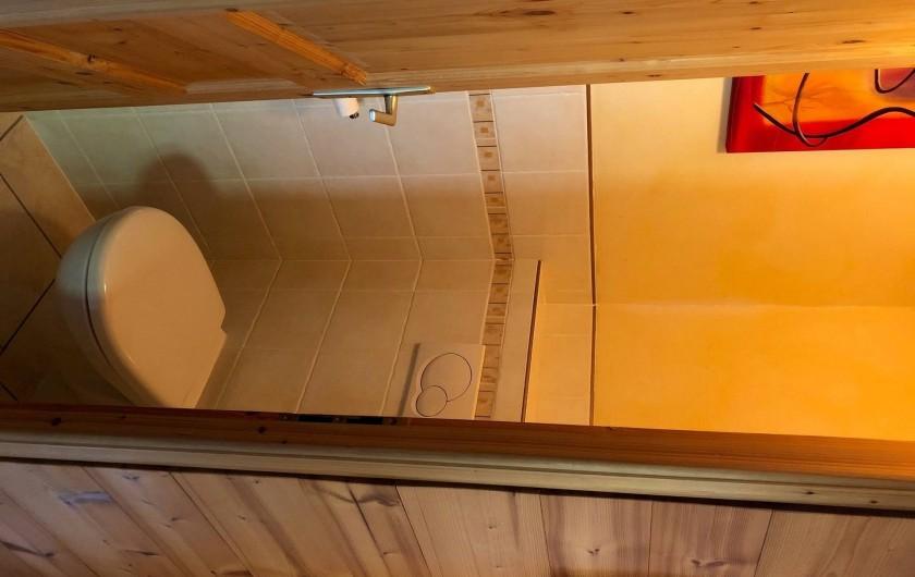 Location de vacances - Appartement à Hauteluce - WC 2 seul