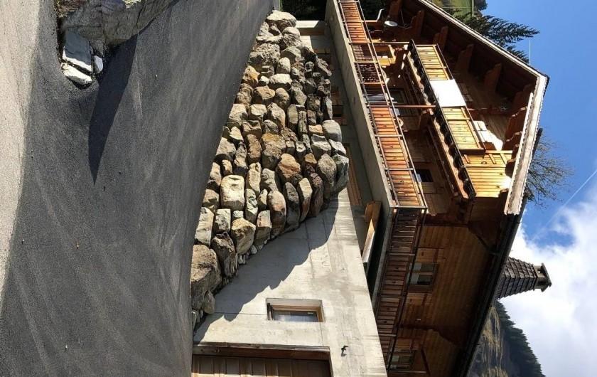 Location de vacances - Appartement à Hauteluce - Accès chalet parking et garage
