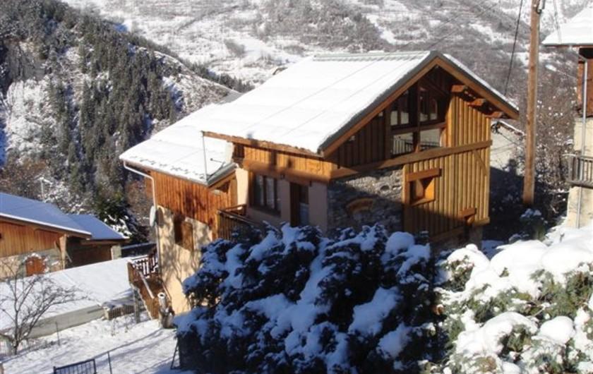 Location de vacances - Chalet à Les Varcins - Chalet vue sud