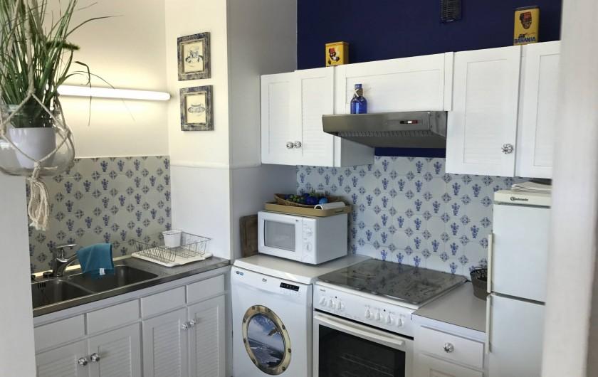 Location de vacances - Appartement à Neufchâtel-Hardelot - Cuisine