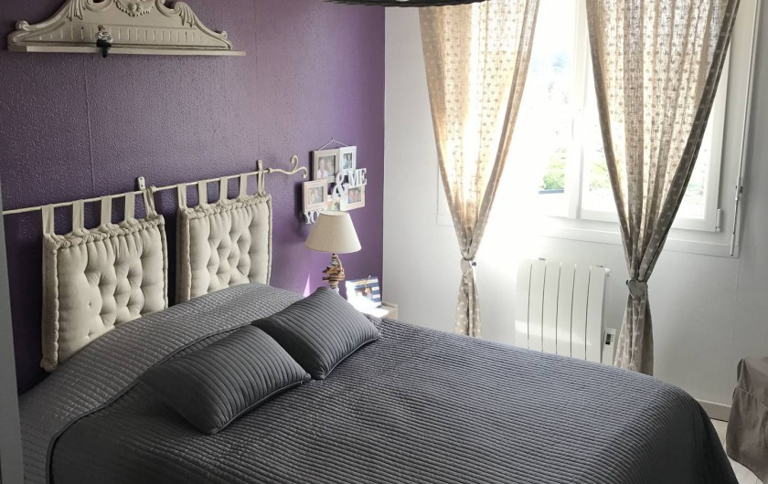 Location de vacances - Appartement à Neufchâtel-Hardelot - Chambre parentale