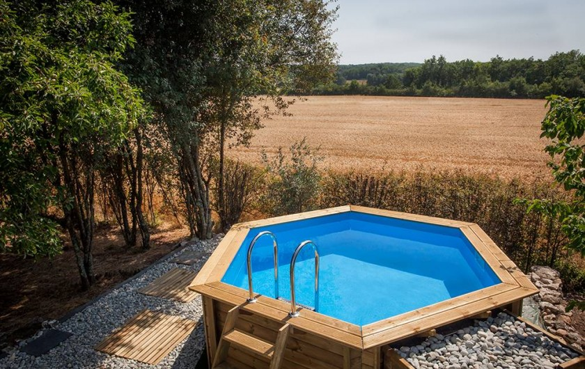 Location de vacances - Villa à Monestier - Notre piscine, sans aucun vis à vis