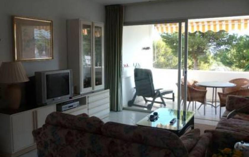 Location de vacances - Appartement à Malaga - living room