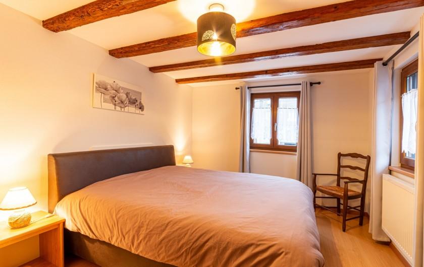 Location de vacances - Gîte à Oberschaeffolsheim - CHAMBRE A COUCHER