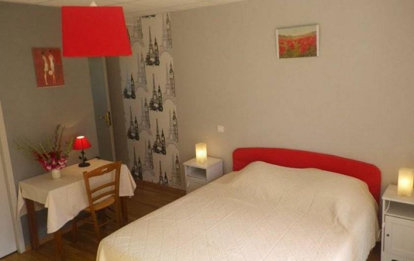 Location de vacances - Chambre d'hôtes à Les Maillys - chambre europe
