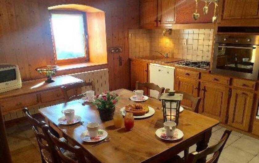Location de vacances - Appartement à Morzine - Cuisine GENTIANE