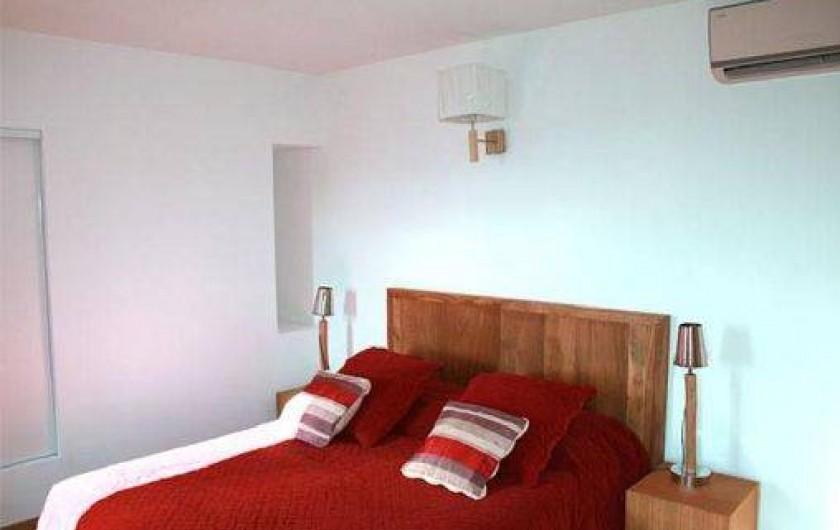 Location de vacances - Maison - Villa à Grosseto-Prugna - bedroom  king