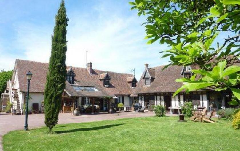 Location de vacances - Chambre d'hôtes à Le Plessis-Grohan - HARAS LE VIEUX CLOS Vue générale