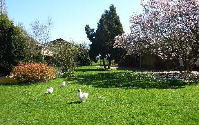 Location de vacances - Chambre d'hôtes à Le Plessis-Grohan - PARC JARDIN CLOS Parkings