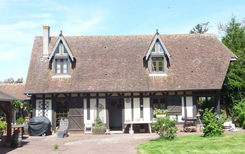 Location de vacances - Chambre d'hôtes à Le Plessis-Grohan - Suite Ô SOLEIL LEVANT Entrée indépendante