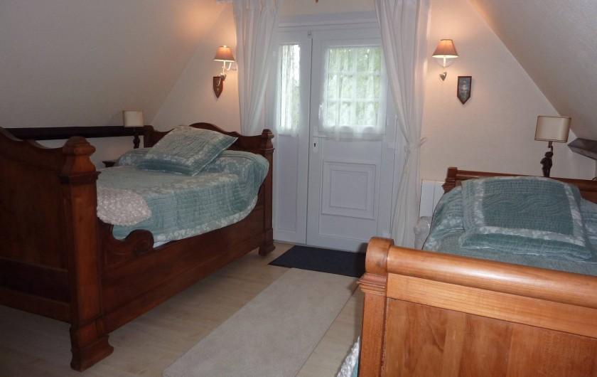 Location de vacances - Chambre d'hôtes à Le Plessis-Grohan - Suite Ô CLAIR DE LA LUNE Seconde chambre