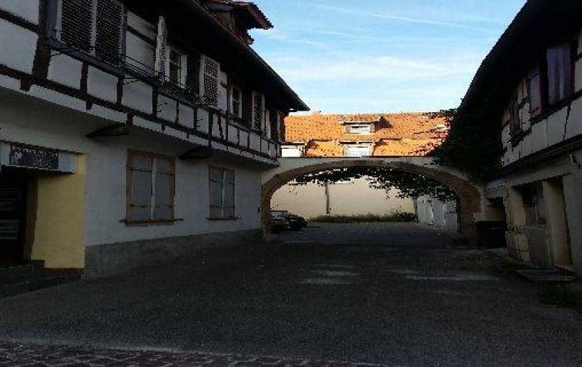 Location de vacances - Studio à Obernai