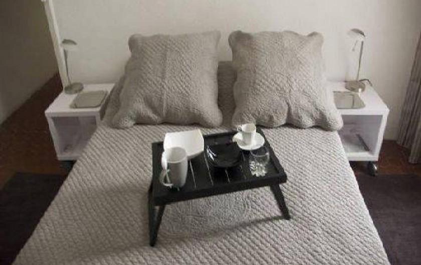 Location de vacances - Appartement à Cannes - Chambre