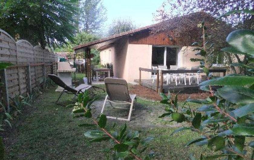 Location de vacances - Villa à Lacanau - façade sud