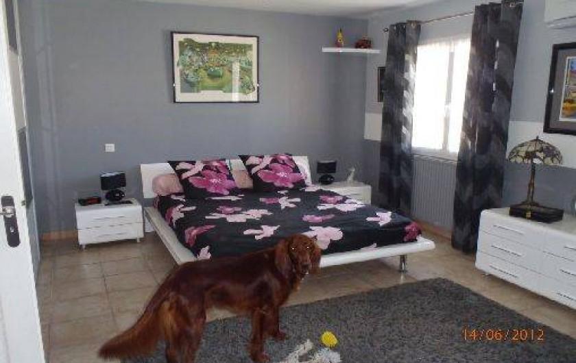 Location de vacances - Villa à Muret - Chambre parentale