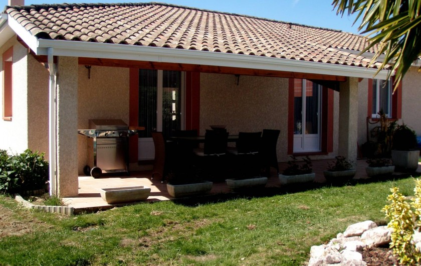 Location de vacances - Villa à Muret - Terrasse d'été
