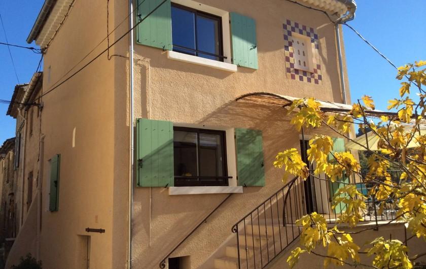 Location de vacances - Chalet à Saint-Martin-de-Brômes - La maison