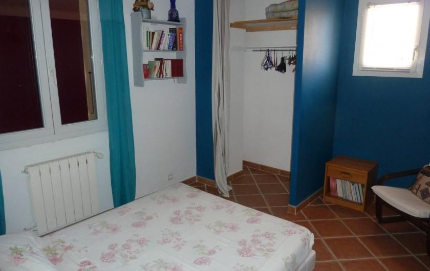 Location de vacances - Villa à Pélissanne - chambre est Lit 140