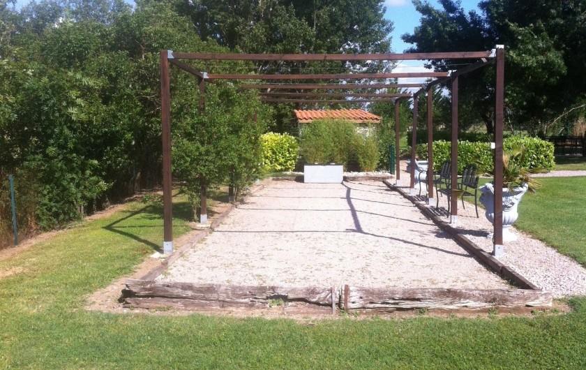 Location de vacances - Gîte à Labastide-de-Lévis - Boulodrome