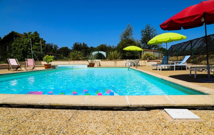 Location de vacances - Gîte à Madiran - Main Pool