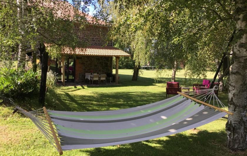 Location de vacances - Gîte à Vailhac - Le hamac n'attend que vous!