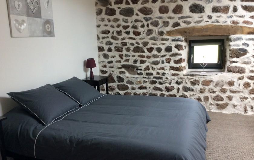Location de vacances - Gîte à Vailhac - Chambre